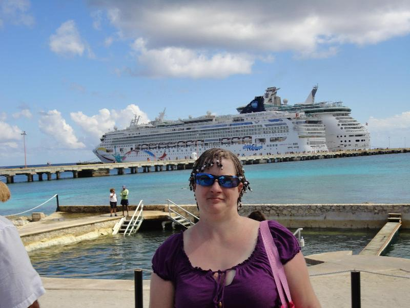 Angie at Caribbean Cruise