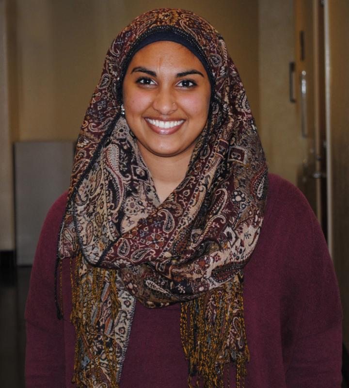Naila Faizi is one of 2 new VISTAs serving at Wake Forest.