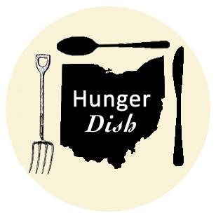 Hunger Dish Yellow Small Border
