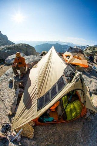 BA tent
