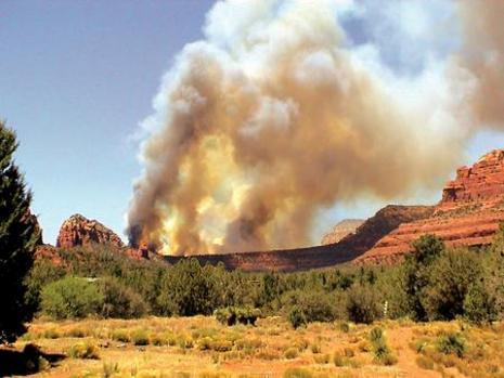 arizona fire
