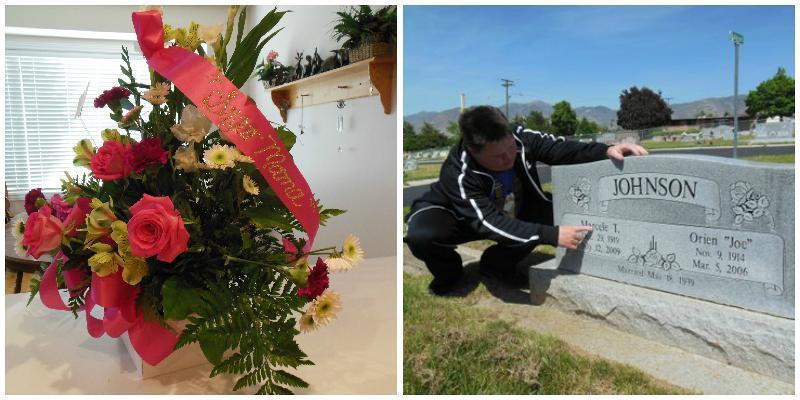 David at Gram's Grave