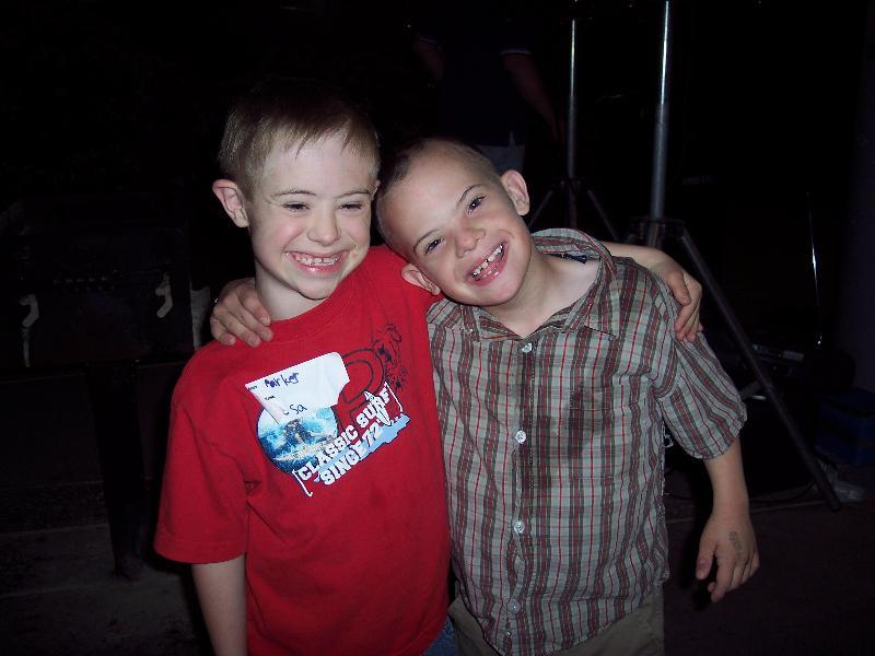 Parker and Jeremy