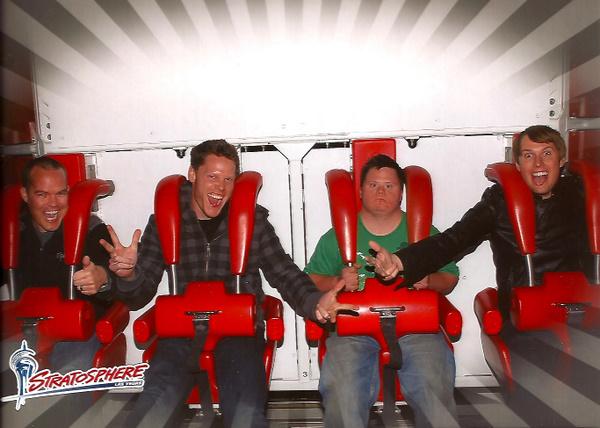 David on Vegas Ride