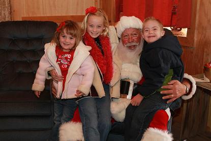 Christmas with Santa 2009
