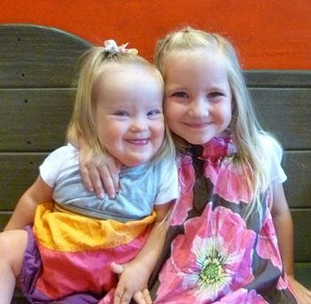 Eme and her sissy