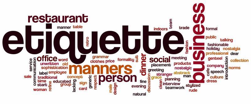 Etiquette Square