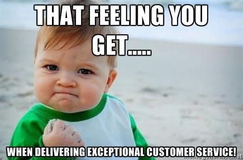 Good vs. Great Service