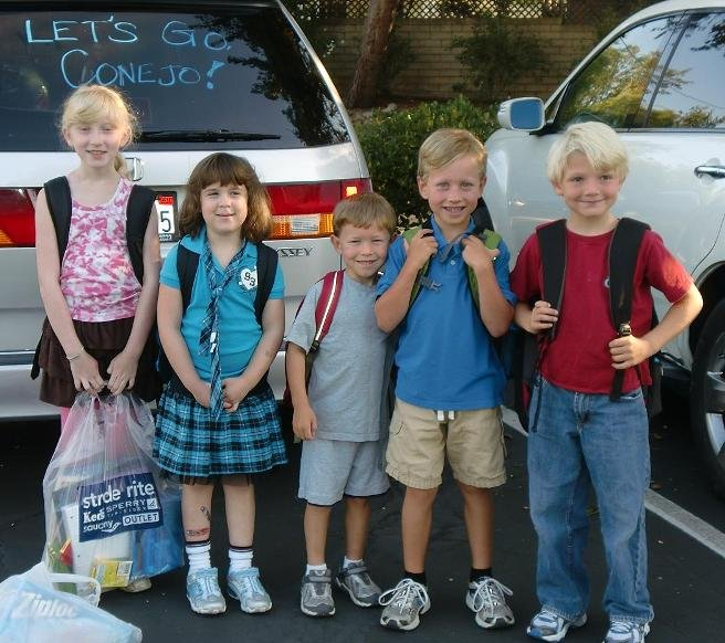 first day kids