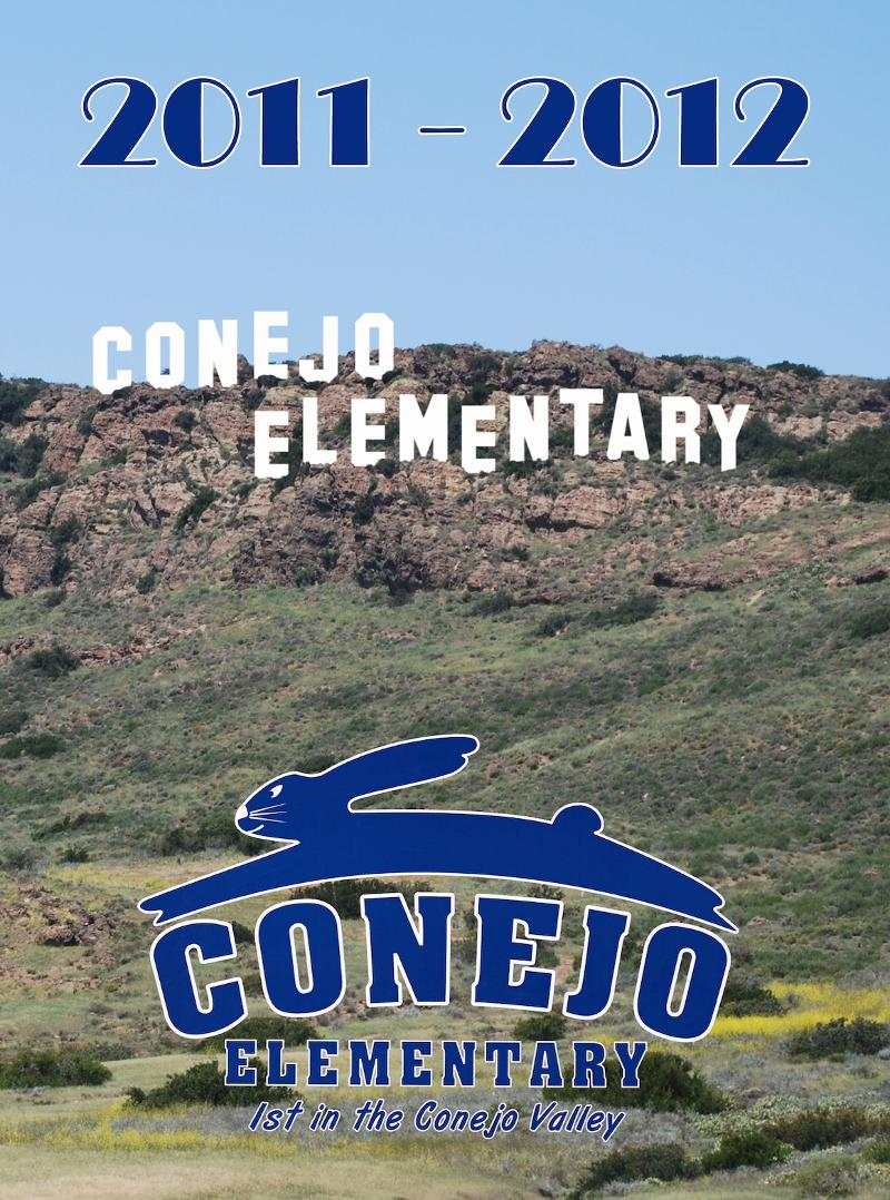 Conejo yearbook 2012