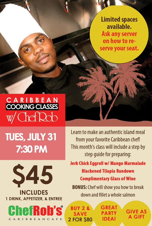 Chef Rob's Cooking Class July 2012