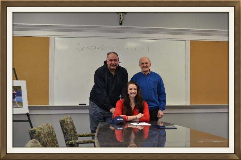 SPCHS SENIOR SIGNS WITH UCONN