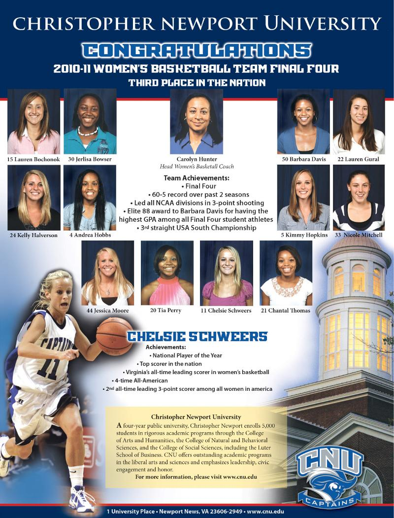 Womens Basketball Ad