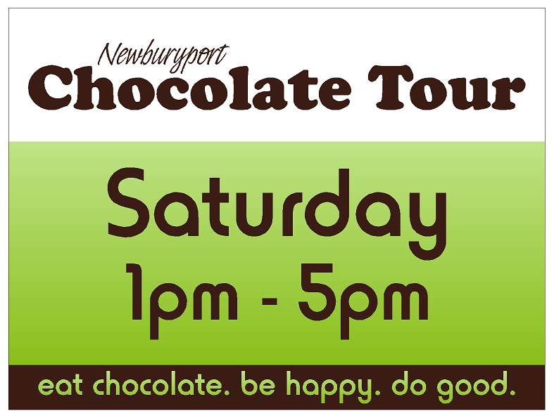 Choc Tour sign