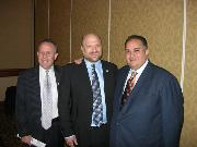 JPAC Chair Marc Carrel w/ Steinberg & Perez