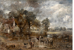 John Constable: Full-scale study for The Hay Wain, 1821