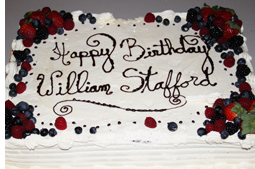 Happy Birthday William Stafford