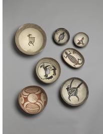 Mimbres: bowls, A.D. 1000-1150