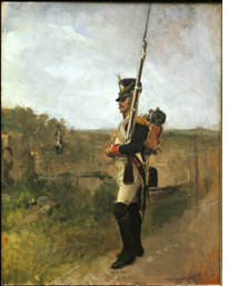 Jean Louis Ernest Meissonier: The Sentry (La Vedette), 1890.