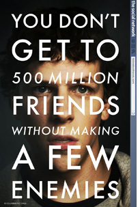 The Social Network (2010) movie poster