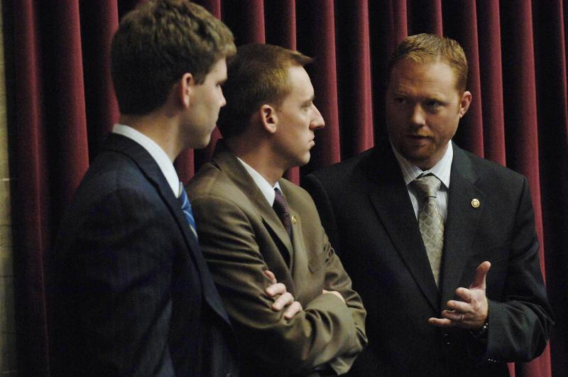 (From Right to Left) Rep. S. Webber, Rep. J. Kander, & Rep. J. Holsman