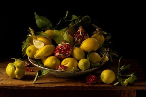 Paulette Tavormina, Lemons and Pomegranates