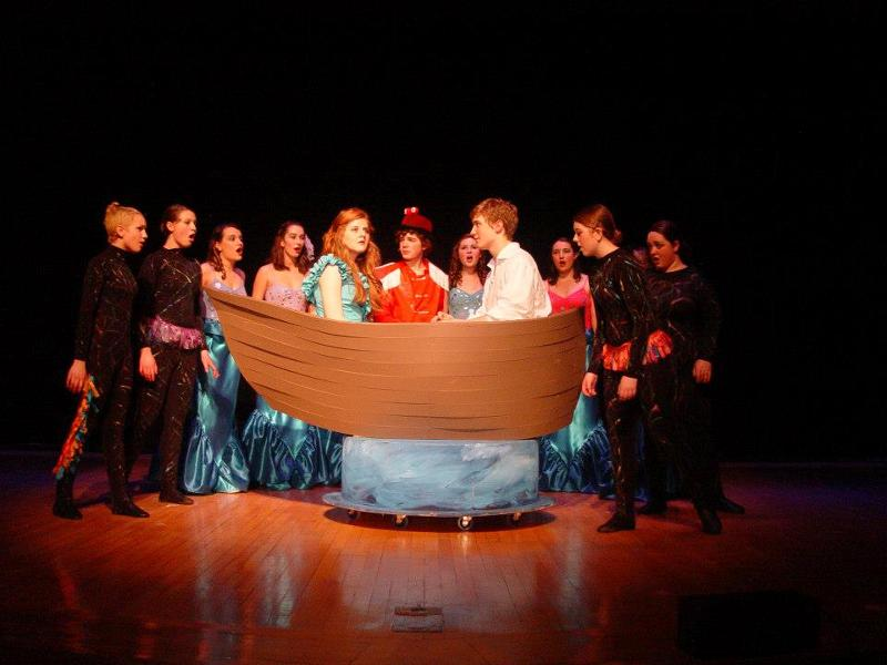 Little Mermaid Theatrical Set Please Forward To Director