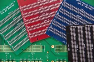 PCBs multicolour