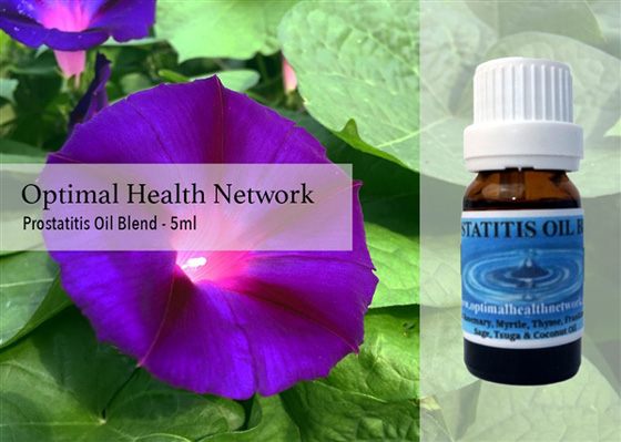 prostatitis essential oil blend