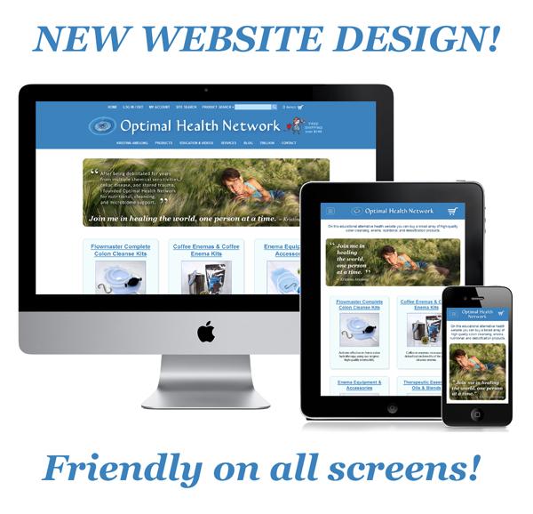 Optimal Health Network - New Website