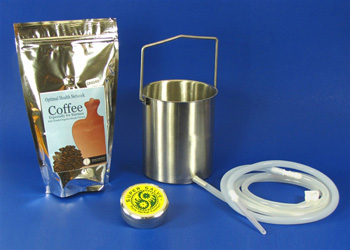 coffee enema kit