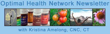 Optimal Health Network Newsletter with Kristina Amelong