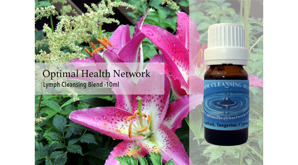 lymph cleansing essential oil blend