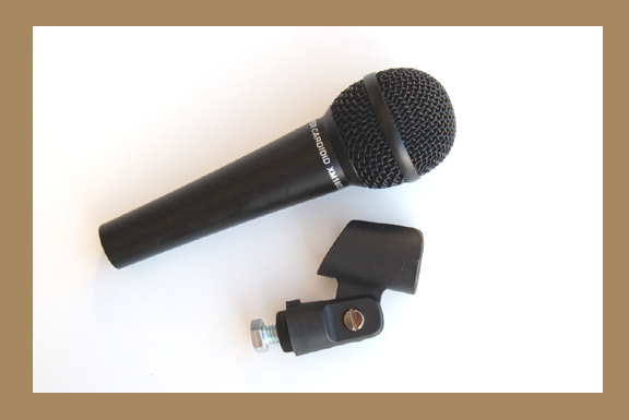 Tap Tuning Microphone