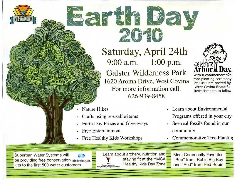 WC                                     Earth Day