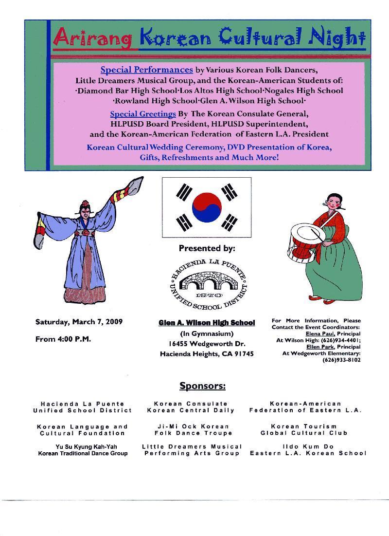 Korean American Dance