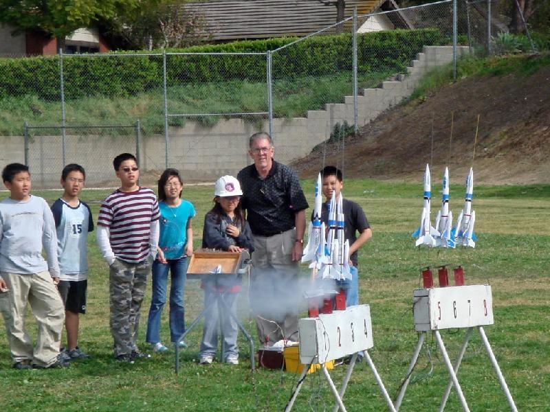 Shelyn Rocket Launch