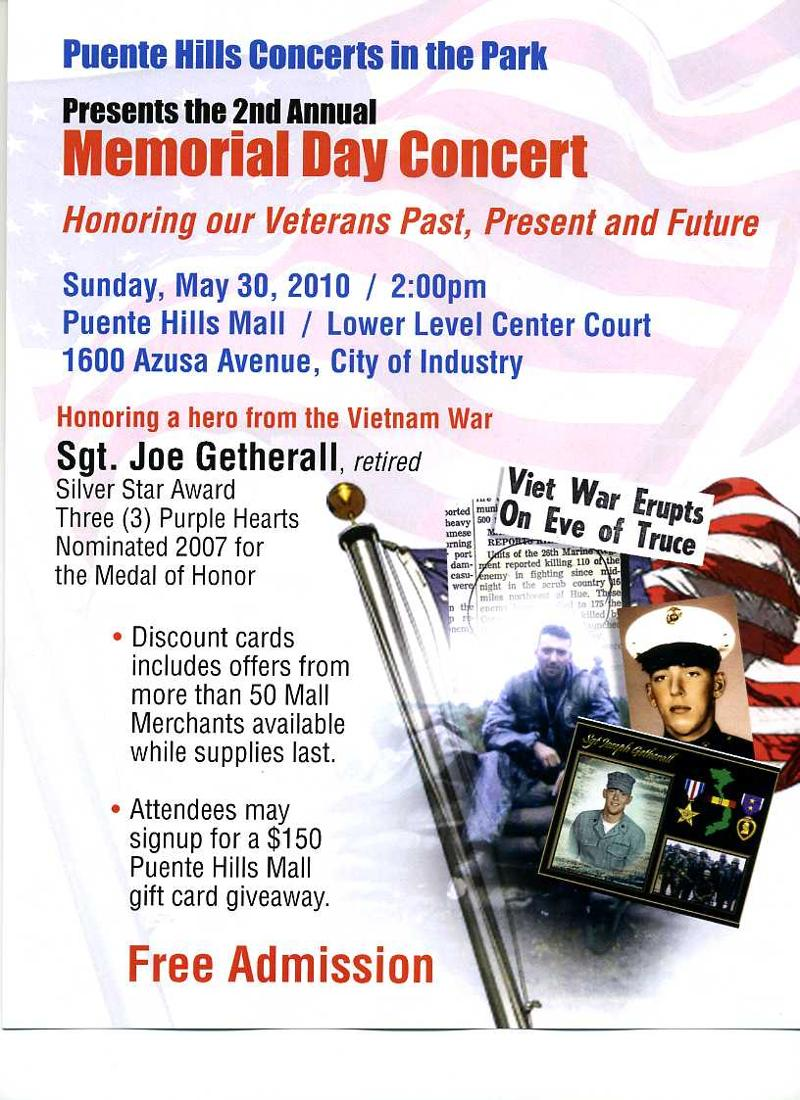 2nd Mem Day at PHM