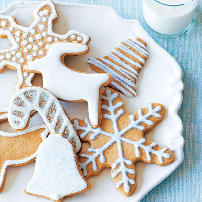 White Holiday Cookies