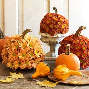 Flower Pumpkins