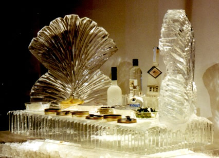 caviar & shells ice