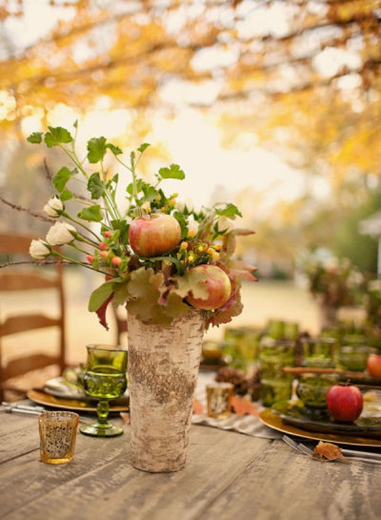Fall wedding CP