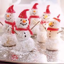 Snowball Cookie Snowmen