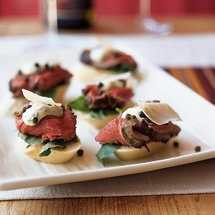 Tenderlion Canapes