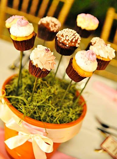 Cupcake Centerpeice