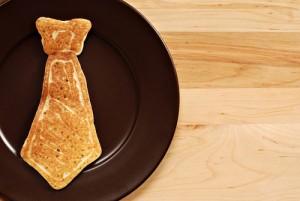 Fathers day pancake