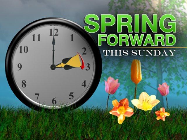 Daylight savings  Spring