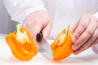 Bell Pepper Knife Skills