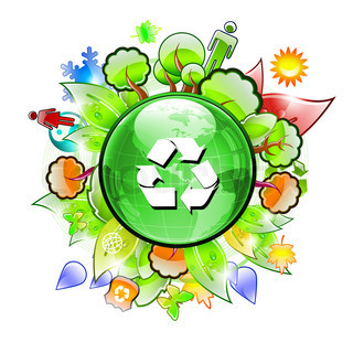 Earth Day Recyling Logo
