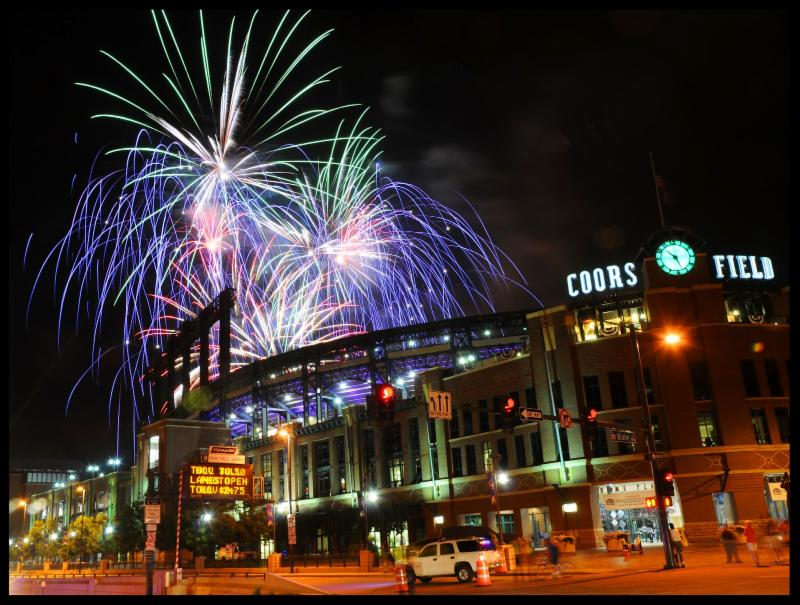 Coors Fireworks